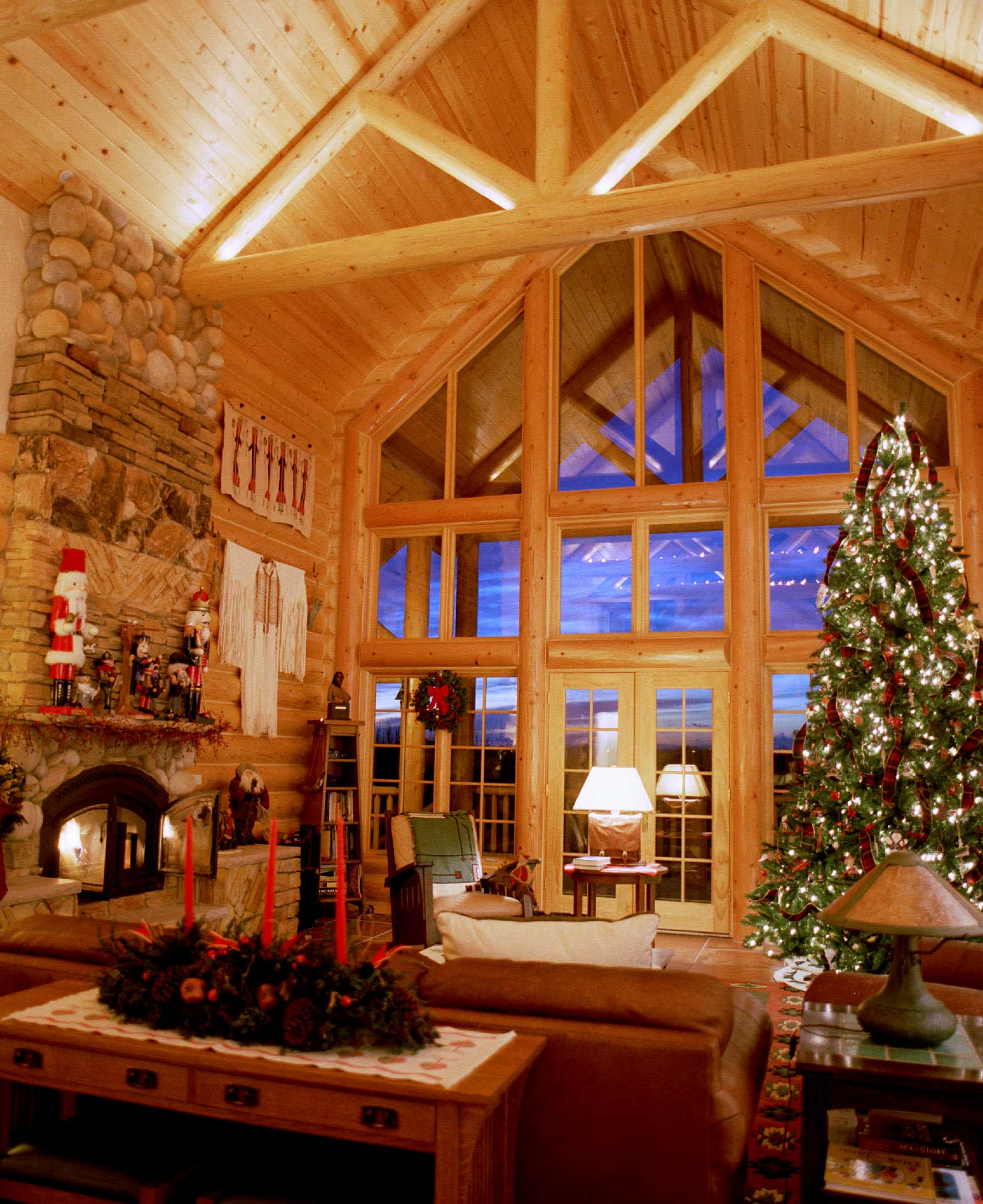 Lodge Log Cabin Interior